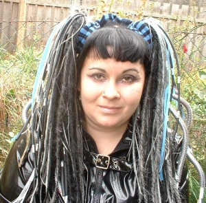 Me in the early 00s.  SO GOTH.