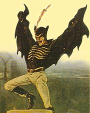 Spring-Heeled Jack image from Wikimedia Commons